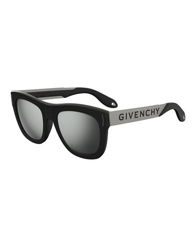 5669f2be7f Quick Look. Givenchy · Stainless Steel   Rubber Square Logo Sunglasses