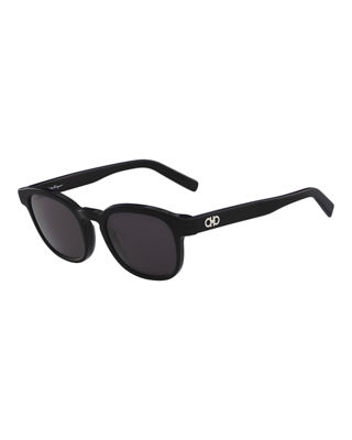 Men's Doppio Gancio Acetate Schoolboy Sunglasses