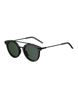 Urban Men's Round Sunglasses