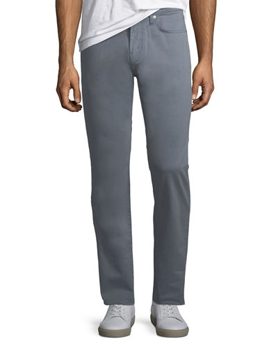 J Brand Kane Straight-Leg Twill Pants