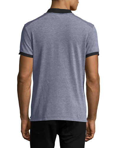 Nelson Heathered Polo Shirt