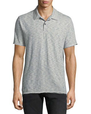 Rag & Bone Men's Owen Striped Cotton-Linen Polo