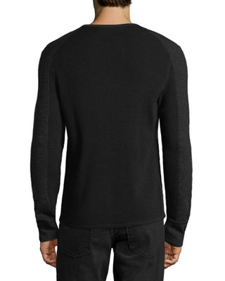 Image 2 of 2: Men's Gregory Waffle-Knit Thermal Shirt