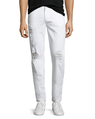 Men's Tyler Deconstructed Slim Jeans