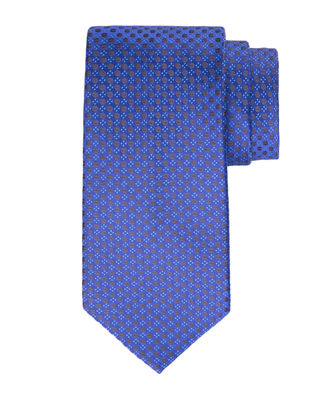 Stefano Ricci Coffee-Bean Silk Tie