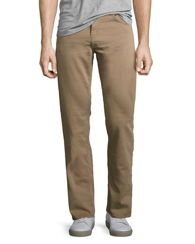 J Brand Kane Slim-Fit Luxe Terry Jeans