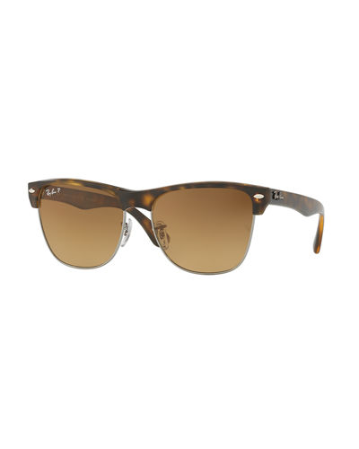 Ray-Ban Clubmaster Oversized Polarized Sunglasses