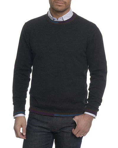 Robert Graham Cooperstown Wool Crewneck Sweater
