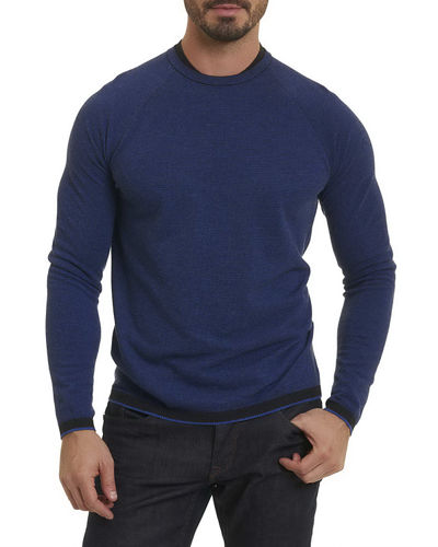 Robert Graham Ray Brook Waffle-Knit Sweater