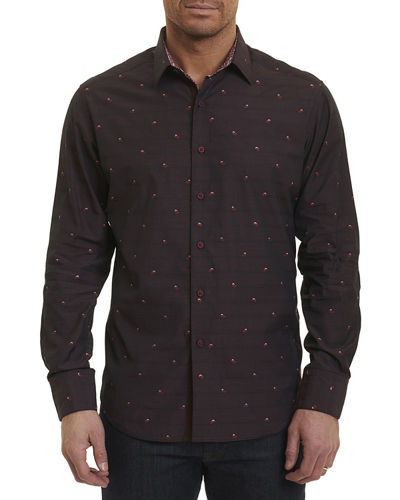 Seneca Lake Paisley Pines Sport Shirt