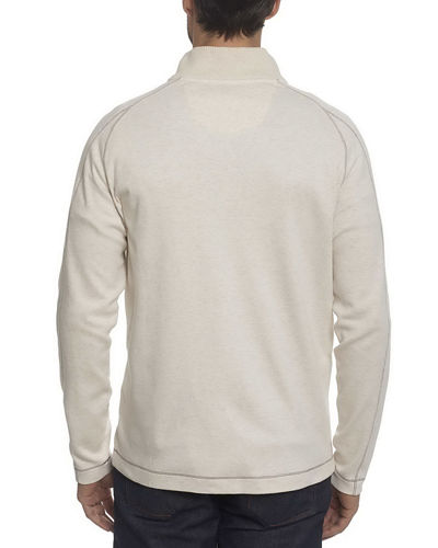 Elia Cotton-Modal Quarter-Zip Pullover