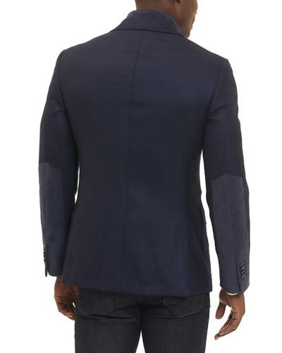 Downhill Wool-Cashmere Blazer with Warmer