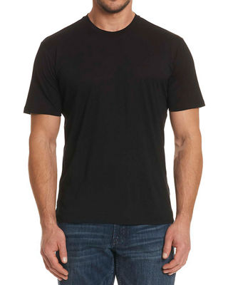 Clemons Silk-Cotton-Wool T-Shirt