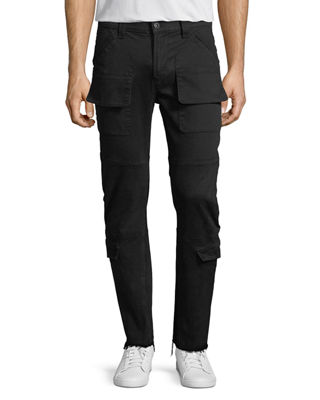 Hudson The Endeavor Slouchy Skinny Cargo Jeans