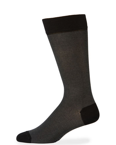 Microdot Cotton Socks