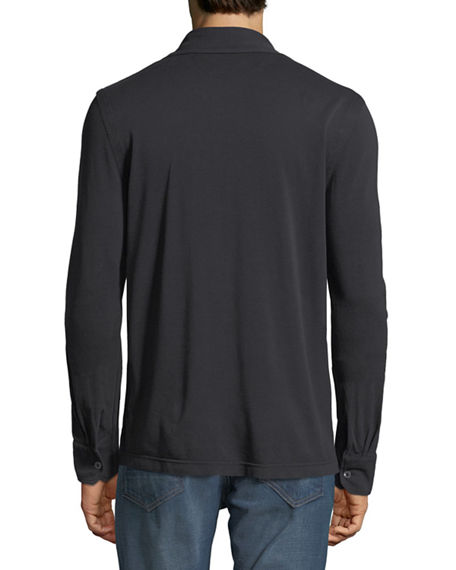 Image 2 of 2: TOM FORD Pique-Knit Sport Shirt