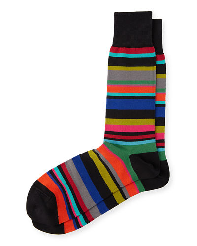 Paul Smith Bolog Striped Socks