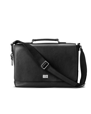 Shinola Men's Leather Flap-Top Messenger Bag