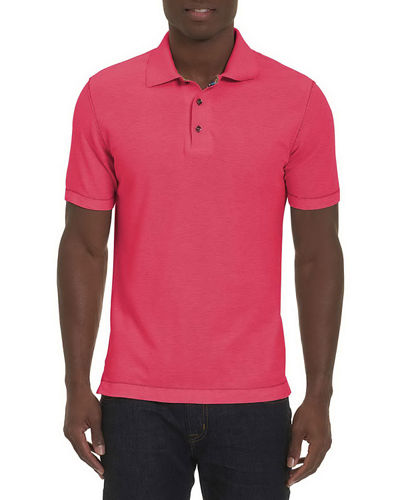 Robert Graham Messenger Heather Polo Shirt