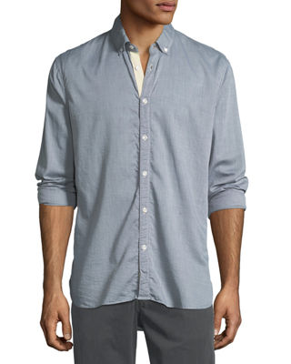Billy Reid Irvine Cotton Sport Shirt