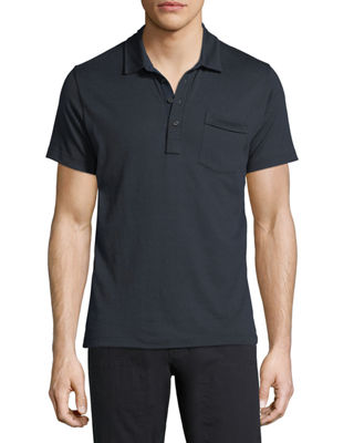 Billy Reid Smith Short-Sleeve Polo Shirt