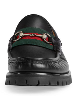 Alfons Web Leather Loafer