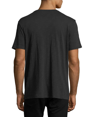Short-Sleeve Slub T-Shirt