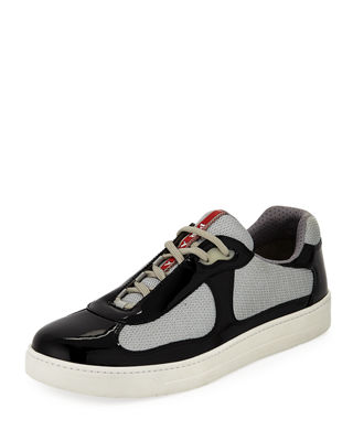 Image 1 of 3: Vernice Low-Top Bike Sneaker