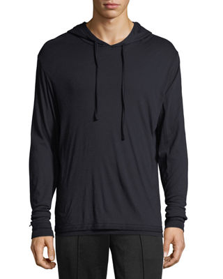 Image 1 of 2: Double-Layer Pullover Hoodie