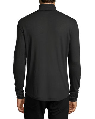 Image 2 of 3: Jersey Turtleneck Sweater