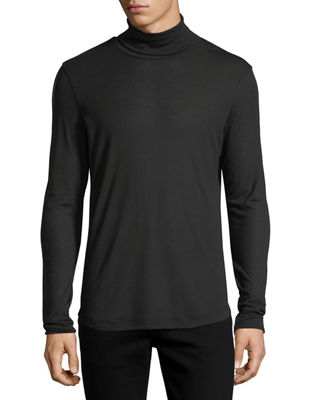 Image 1 of 3: Jersey Turtleneck Sweater