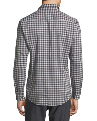 Image 2 of 2: Clean Flannel Sport Shirt