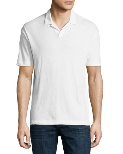 Palm Jersey Polo Shirt