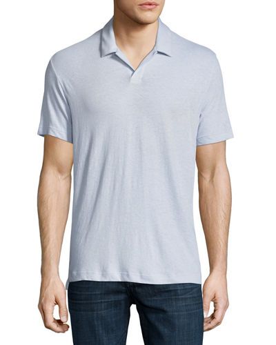 Theory Palm Jersey Polo Shirt