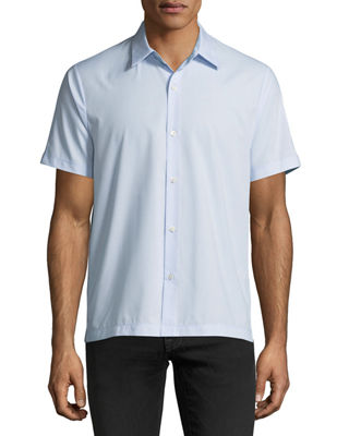 Piqué Short-Sleeve Sport Shirt