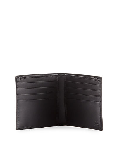 Logo-Embossed Signature Web Wallet