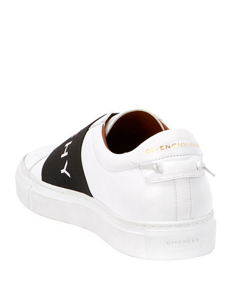 Image 3 of 4: Givenchy Men's Urban Street Elastic Slip-On Sneakers