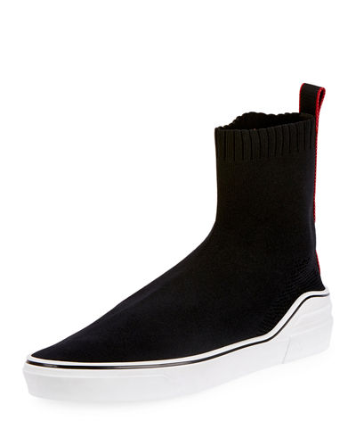 Men's George V High-Top Sock Sneakers