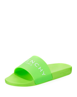 Men's Logo Pool Slide Sandal
