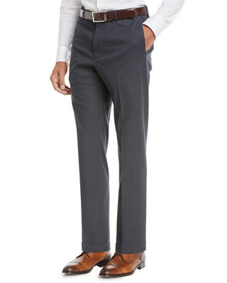 Incotex Benn Standard-Fit Stretch Cotton/Silk Pants