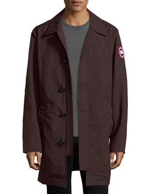 Wainwright Button-Front Coat