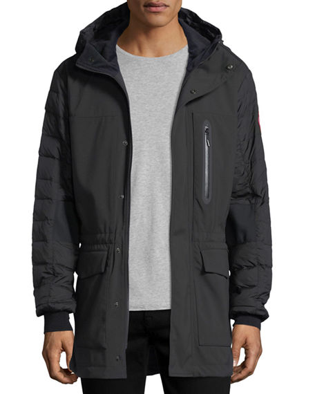 canada goose Bombers Polar Sea Black