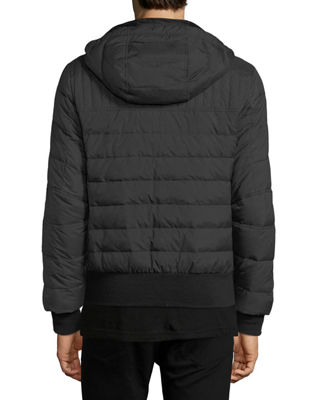 Image 2 of 4: Cabri Hooded Down Bomber Jacket