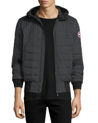 Image 1 of 4: Cabri Hooded Down Bomber Jacket