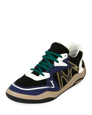 Lanvin Men's Diving Mesh Running Sneakers