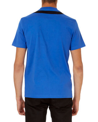 Image 3 of 3: Star-Collar Cuban-Fit T-Shirt