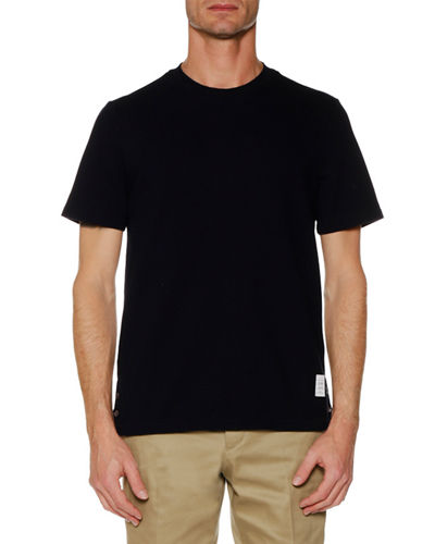 Short-Sleeve Pique T-Shirt