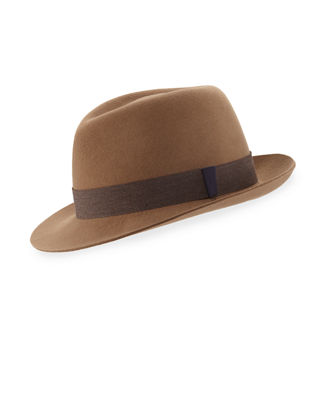 Kaminski Hats XY Smith Wool Fedora Hat