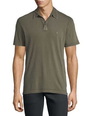 Short-Sleeve Peace Polo Shirt