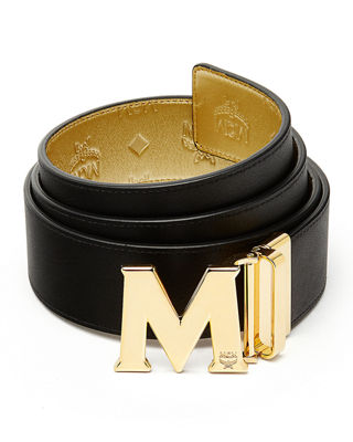 Image 2 of 2: Metallic Embossed Visetos Belt
